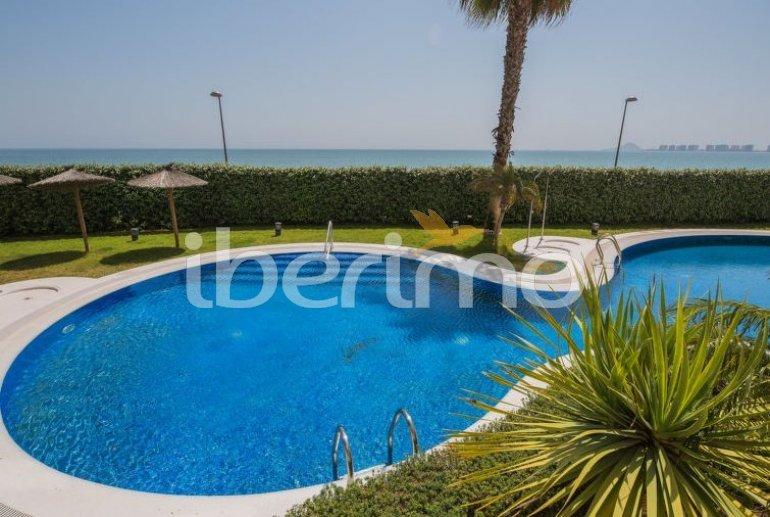 Appartement   à La Manga del Mar Menor pour 4 personnes avec piscine commune p1