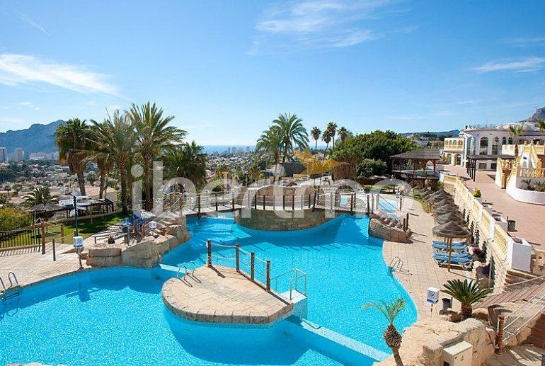 Villa   à Calpe pour 4 personnes avec piscine commune p0