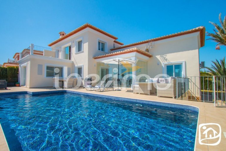 Villa   à Benissa pour 6 personnes avec piscine privée, vue mer et climatisation p14
