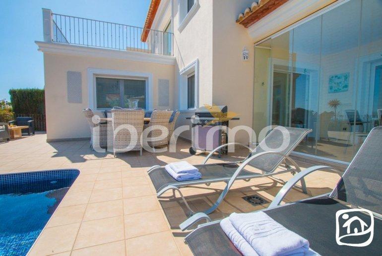 Villa   à Benissa pour 6 personnes avec piscine privée, vue mer et climatisation p13