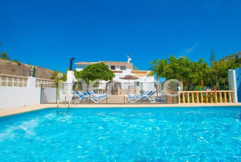 Villa   à Benissa pour 15 personnes avec piscine privée sécurisée, vue mer et Wifi p1