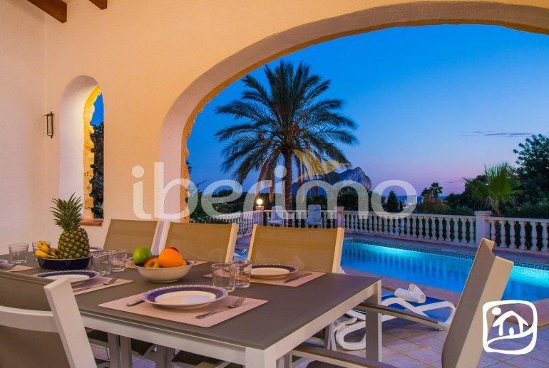 Villa   à Calpe pour 8 personnes avec piscine privée, climatisation et wifi p3