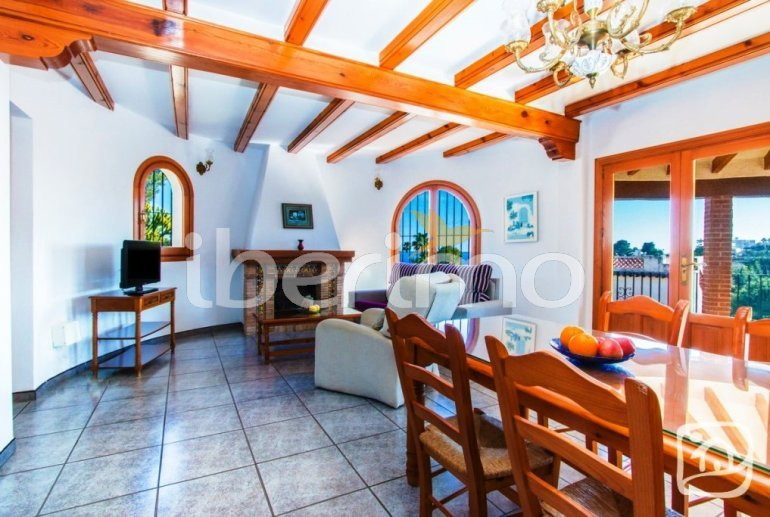 Villa   à Benissa pour 12 personnes avec piscine privée, petite vue mer et internet p10