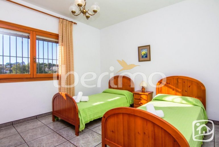 Villa   à Benissa pour 12 personnes avec piscine privée, petite vue mer et internet p15