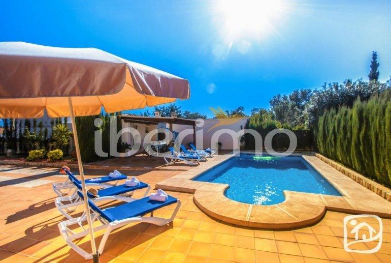 Villa   à Benissa pour 12 personnes avec piscine privée, petite vue mer et internet p3