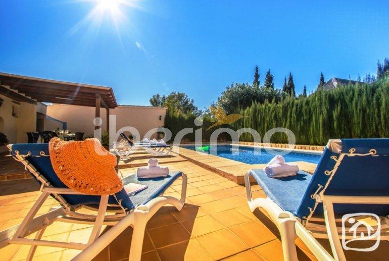 Villa   à Benissa pour 12 personnes avec piscine privée, petite vue mer et internet p5