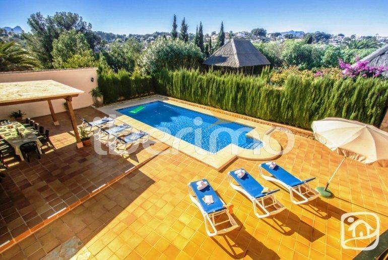 Villa   à Benissa pour 12 personnes avec piscine privée, petite vue mer et internet p7