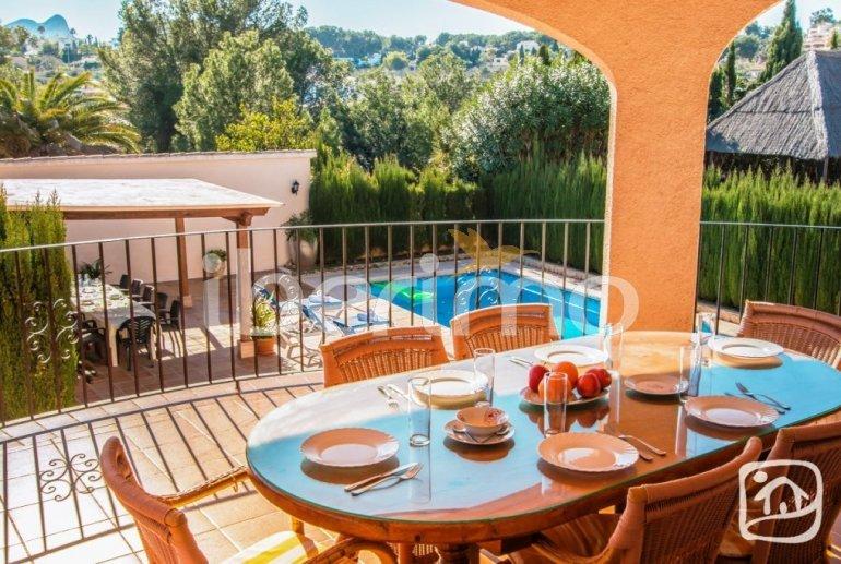 Villa   à Benissa pour 12 personnes avec piscine privée, petite vue mer et internet p4