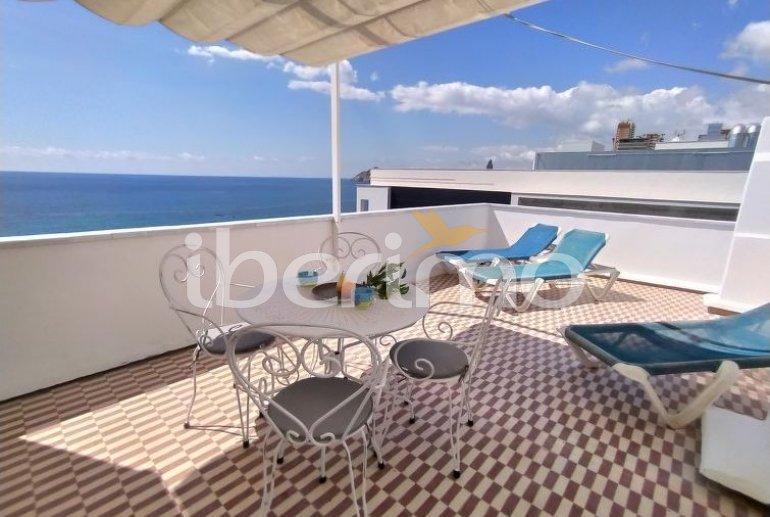 Appartement   à Benidorm pour 4 personnes avec belle vue mer p4