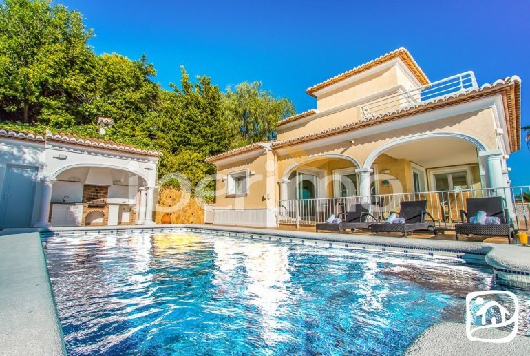 Villa   à Moraira pour 10 personnes avec piscine privée, vue mer et climatisation p7