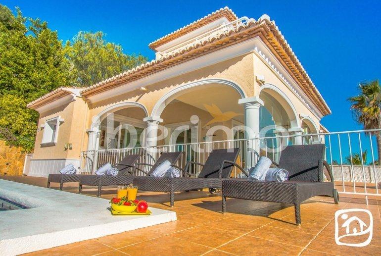 Villa   à Moraira pour 10 personnes avec piscine privée, vue mer et climatisation p18