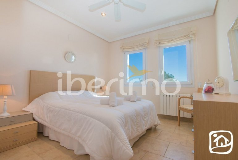 Villa   à Moraira pour 10 personnes avec piscine privée, vue mer et climatisation p26