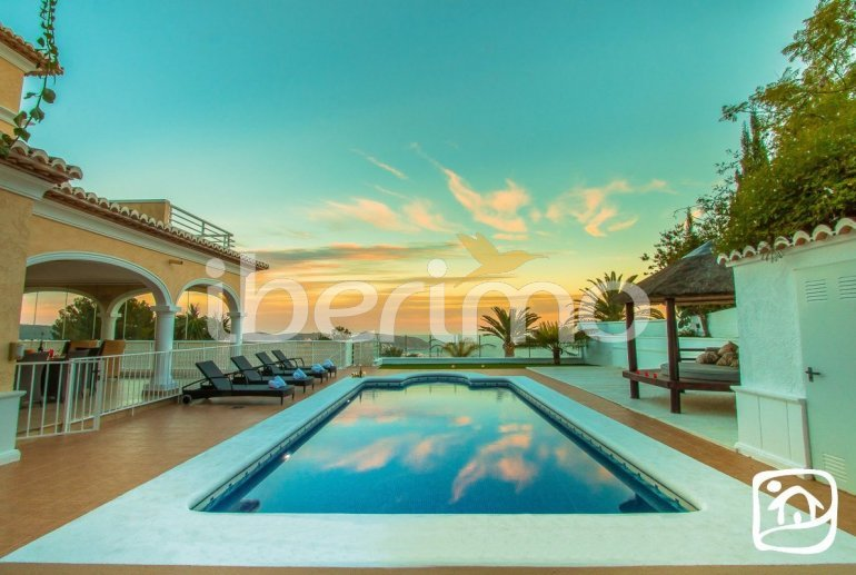 Villa   à Moraira pour 10 personnes avec piscine privée, vue mer et climatisation p4