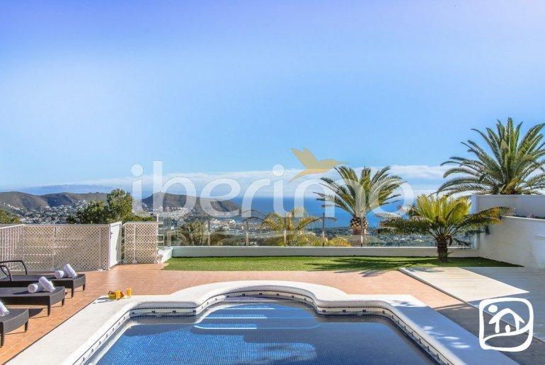 Villa   à Moraira pour 10 personnes avec piscine privée, vue mer et climatisation p19