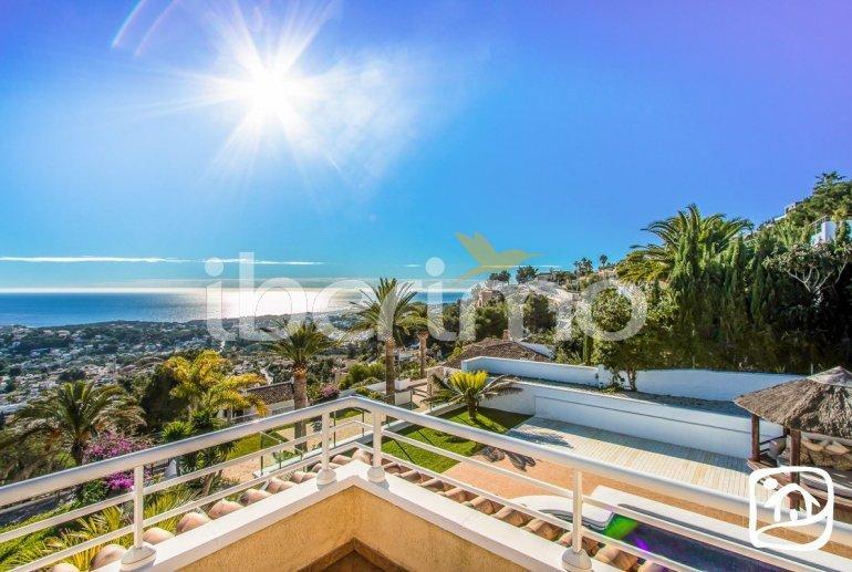 Villa   à Moraira pour 10 personnes avec piscine privée, vue mer et climatisation p9