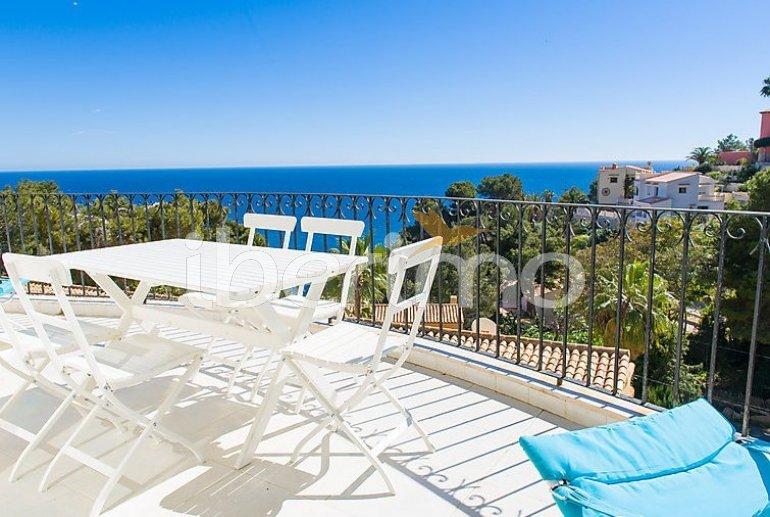 Villa   à Javea pour 2 personnes avec belle vue mer p0