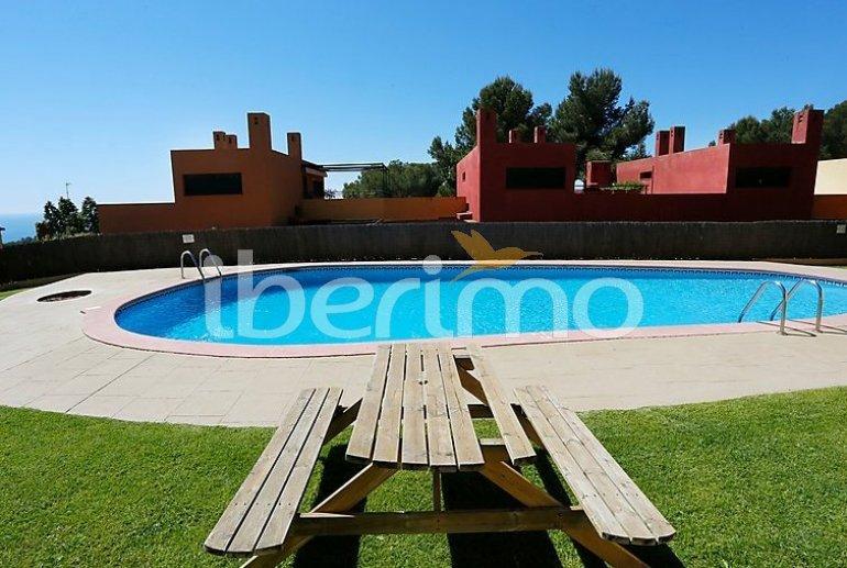 Villa   à Torredembarra pour 6 personnes avec piscine commune p1
