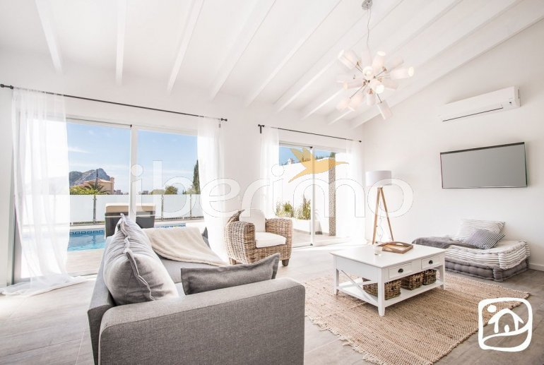 Villa  moderne à Calpe pour 6 personnes avec piscine privée et vue mer p8