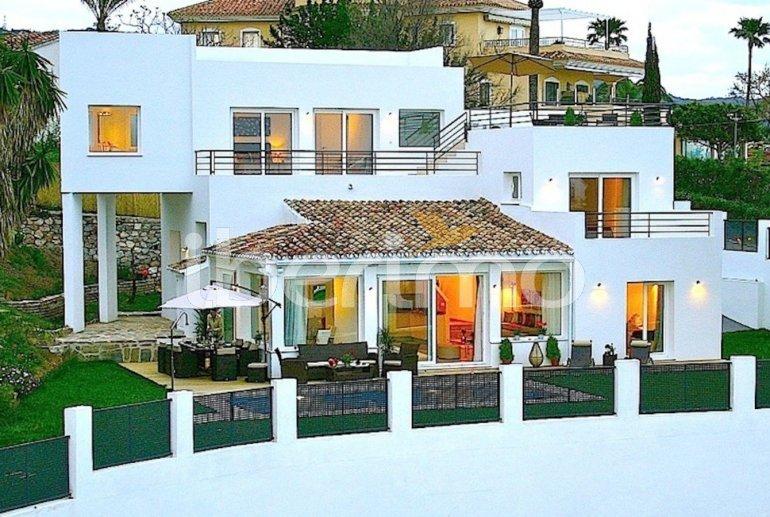 Villa   à Marbella pour 10 personnes avec belle vue mer p0