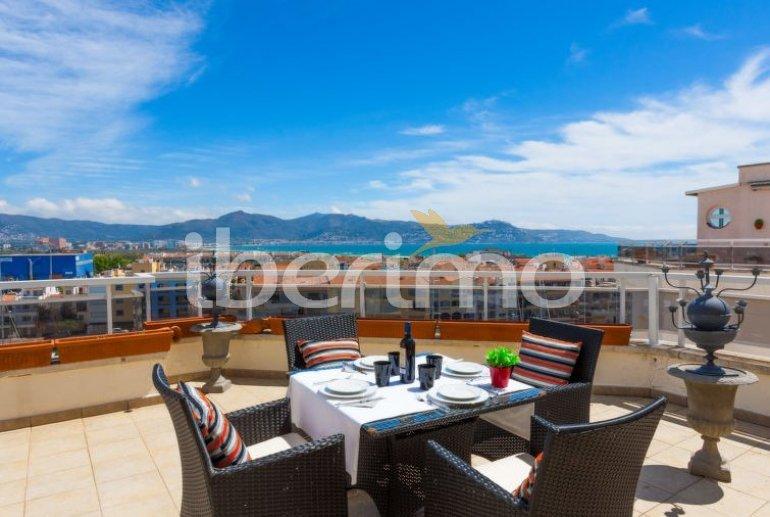 Appartement   à Empuriabrava pour 4 personnes avec belle vue mer p0